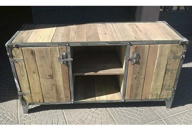 Muebles y accesorios en madera y hierro | Hierro, Madera y Accesorios