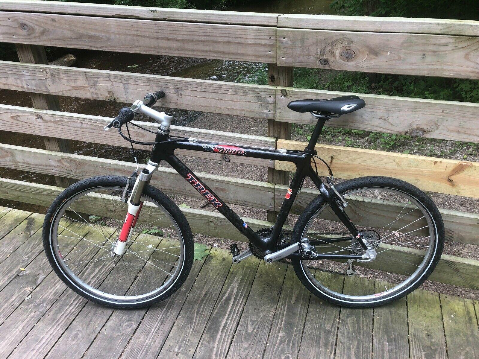 Vintage Trek 9800 Oclv Mountain Bike Excellent Condition