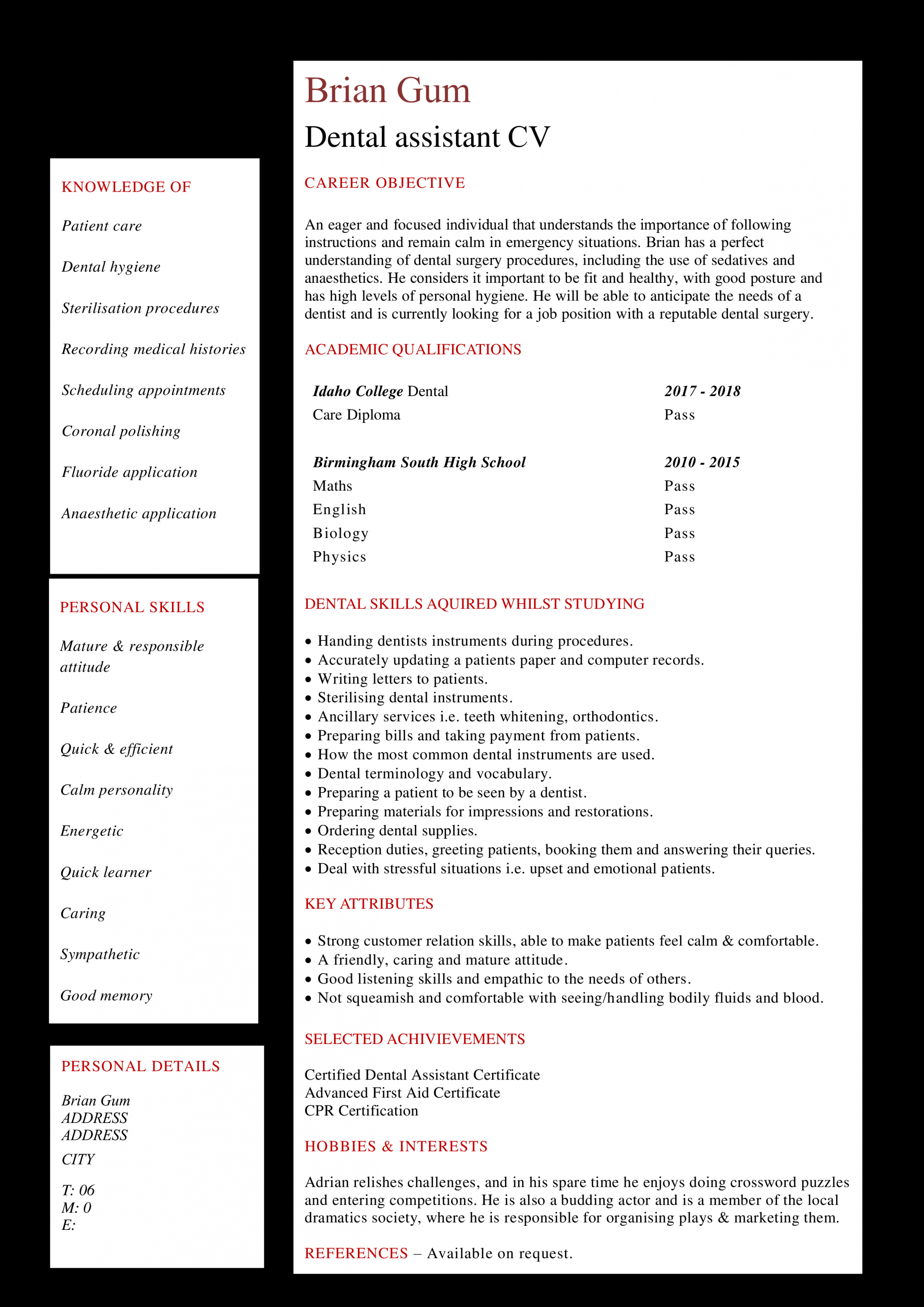 10 Curriculum Clean Resume Crossword in 2020 Curriculum