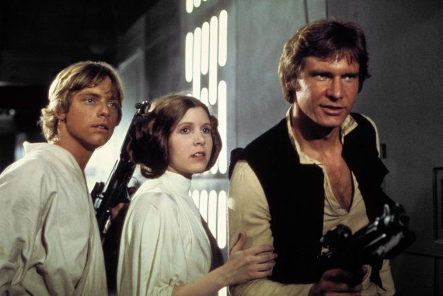 Luke, Leia, and Han Solo From Star Wars Halloween Pinterest - pop culture halloween costume ideas