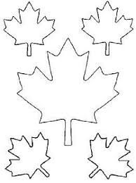 Canada Maple Leaf Coloring Page