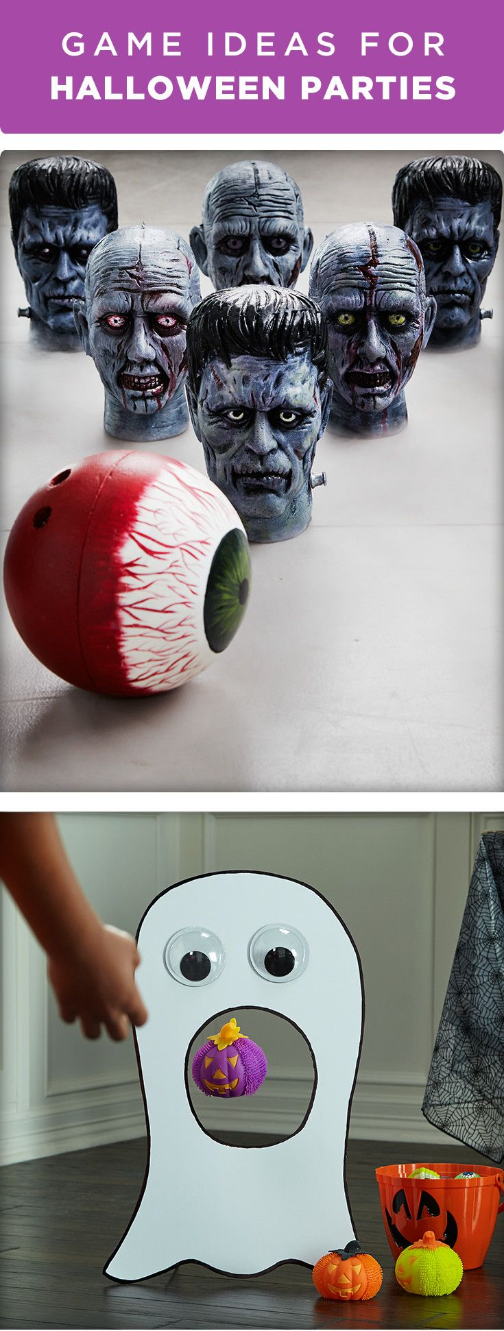 Need some fun game ideas for your Halloween party? How about ...