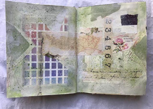 A Year of Art Journaling #artjournalmixedmediainspiration