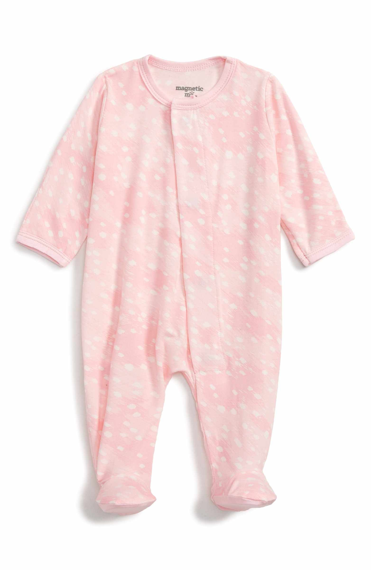 Main Image Magnetic Me Fitted e Piece Pajamas Baby Girls