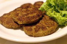 Pitadinha: Hambúrguer de atum e berinjela