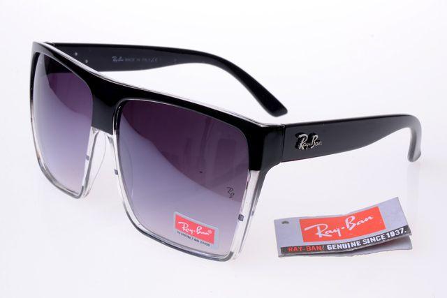 8b1e445b154 Ray-Ban Square 2128 Black Frame Transparent Gray Lens RB1061. Ray-Ban  Square 2128 Black Frame Transparent Gray Lens RB1061 Wholesale Sunglasses  ...