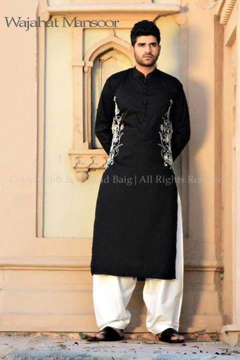wajahat-mansoor-latest-summer-eid-kurta-pajama-salwar-kameez ...