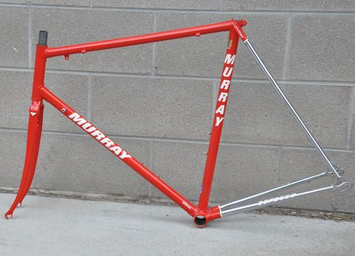 57cm Vintage Team 7 Eleven Murray Team Frameset Built By Serotta