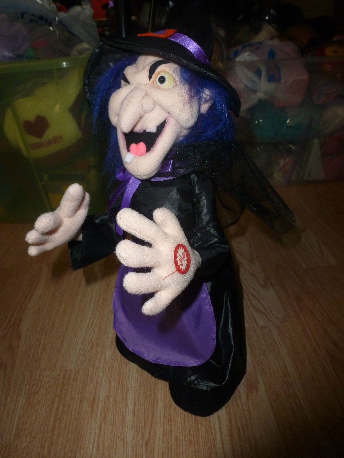HALLOWEEN~KIDS OF AMERICA~ANIMATED~DANCING~SINGING WITCH~AWESOME picclick.com