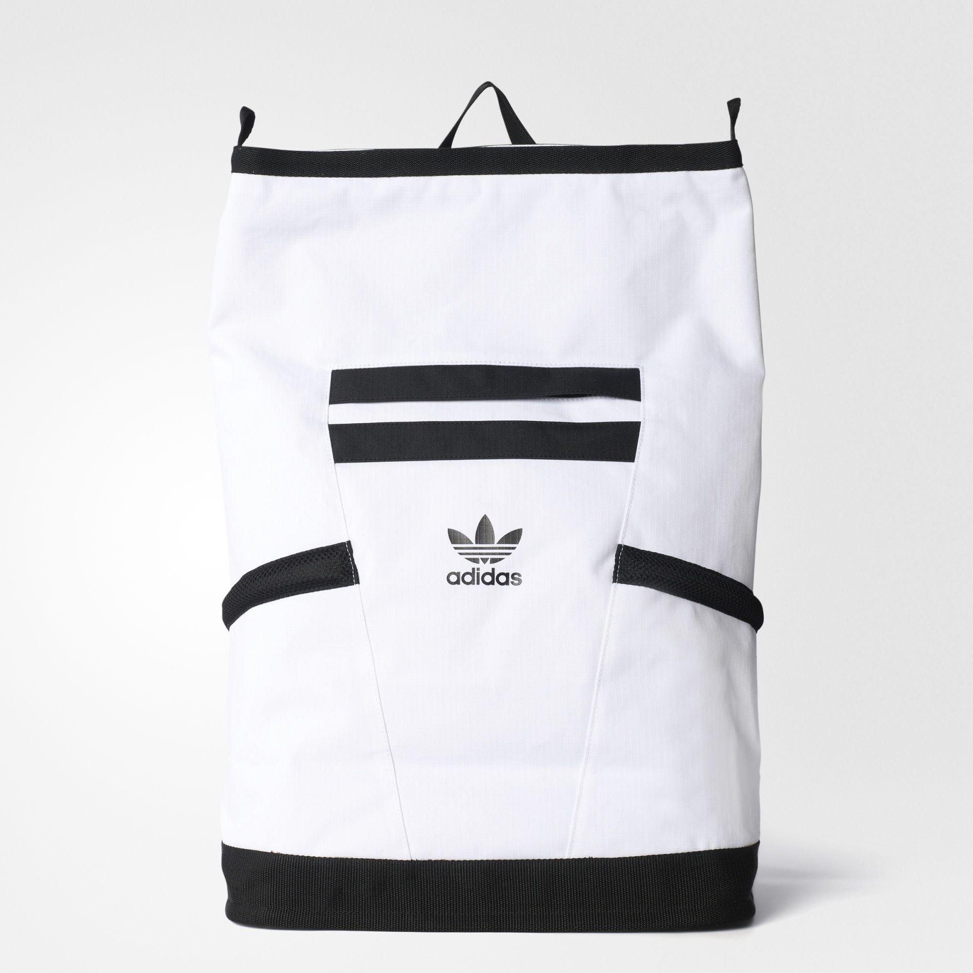 ab32eddba60 adidas - Trip White Future Backpack     adidas   Pinterest   Adidas ...