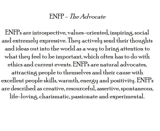 Enfp shy