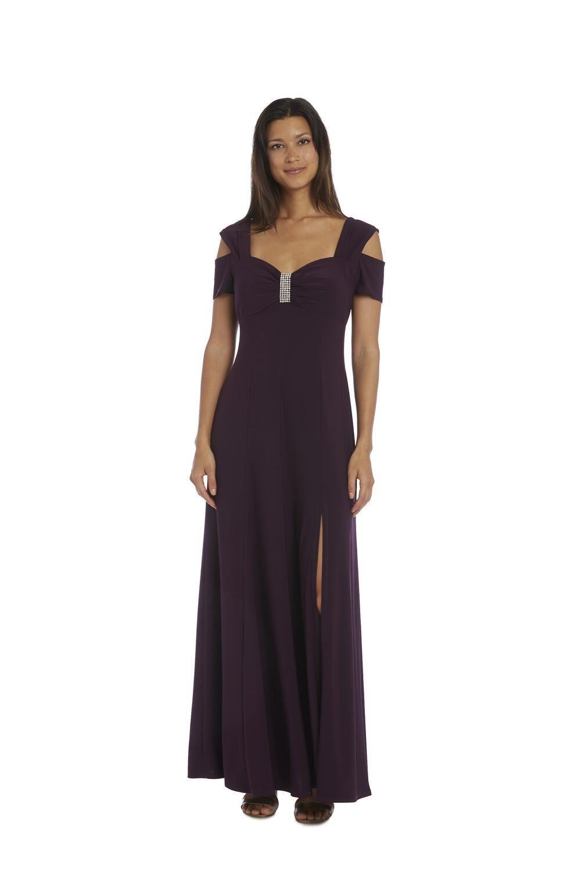 R M Richards Cold Shoulder Gown 12 Polyester Cold Shoulder Dress Cold Shoulder Gown Cold Shoulder Formal Dresses [ 1500 x 1000 Pixel ]
