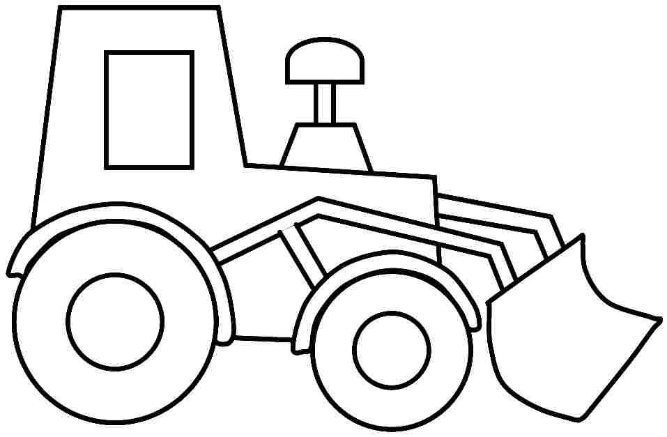 Construction Truck Coloring Pages For Kids 8 best images of ...