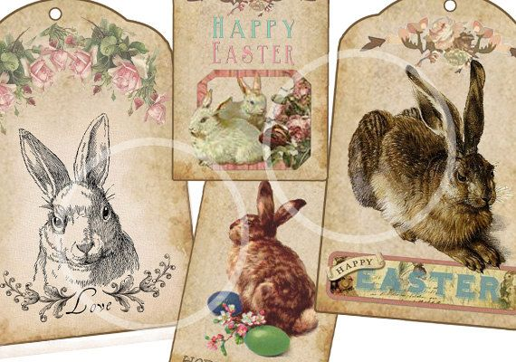 Bunny rabbit shabby chic tags easter gift tag by sssstudio on etsy bunny rabbit shabby chic tags easter gift tag by sssstudio on etsy etsy great negle Images