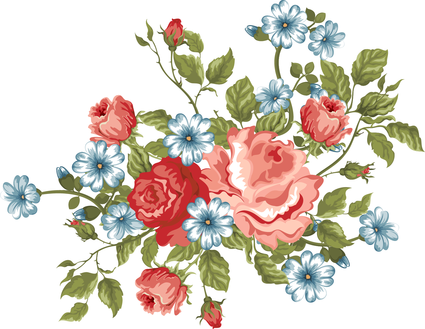 flowers / png. xxl Flower embroidery designs, Flower
