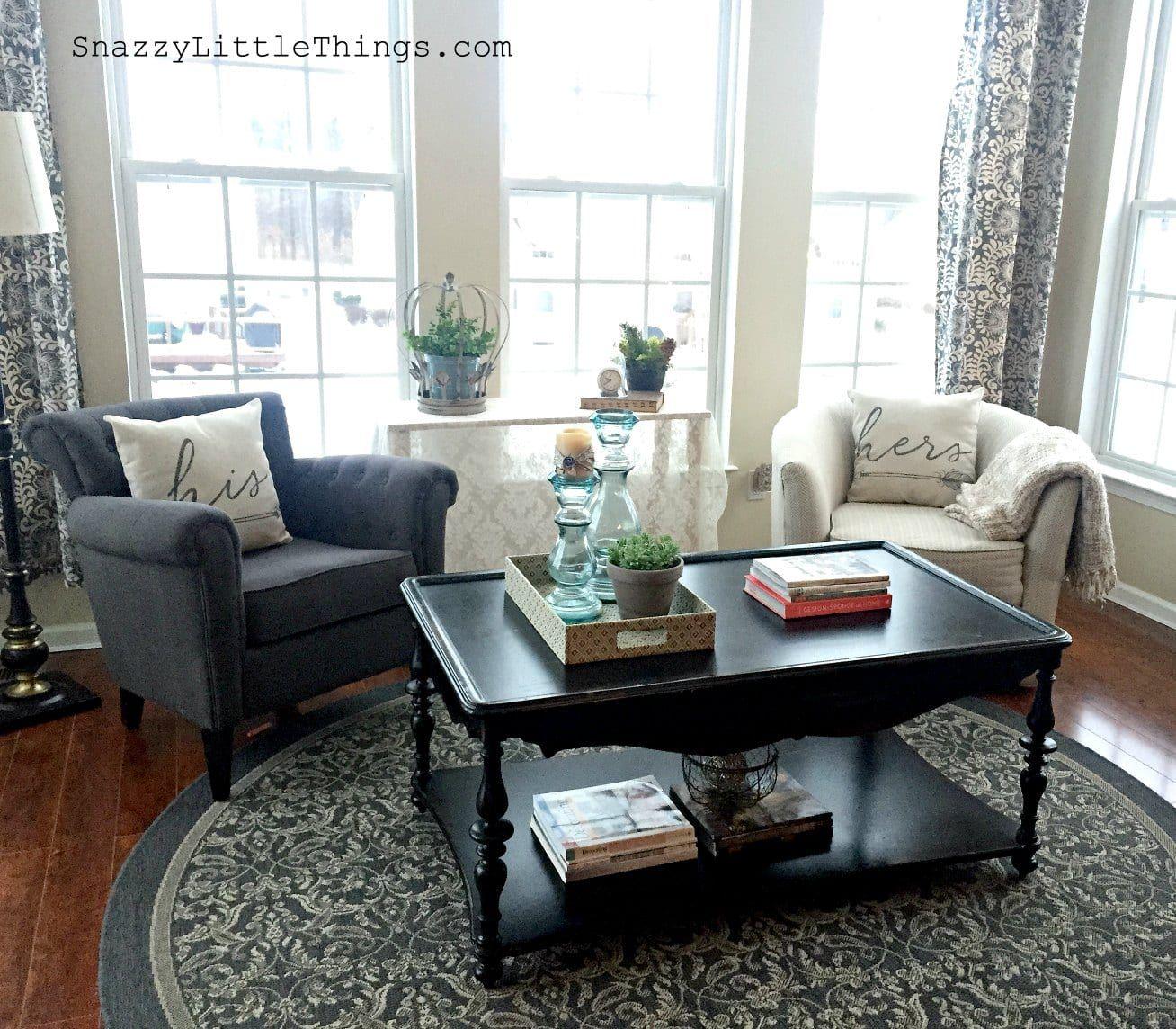 Interior Sunroom Addition Ideas: Kendall Charcoal Painted Sunroom