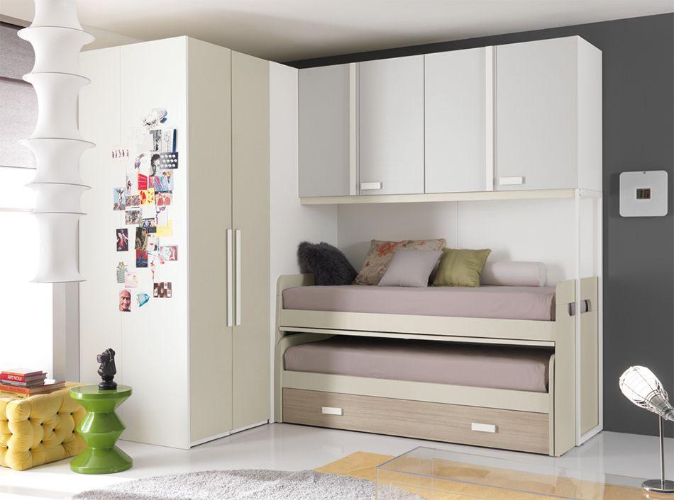 Camerette A Ponte Spar.Modern Italian Kids Bedroom Set One 507 By Spar Djecje Sobe Kids