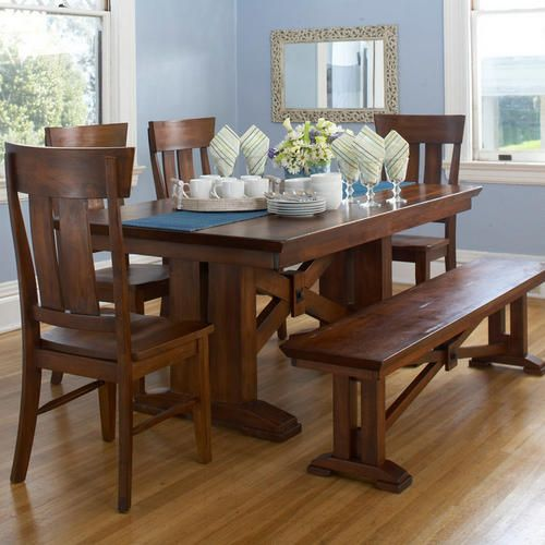 I Love This Dining Table Bench Set From World Market We Can