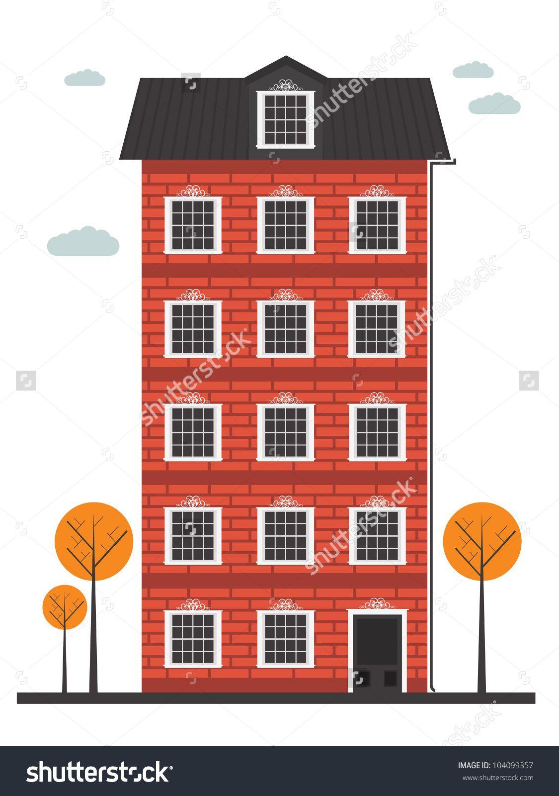 cartoon building google 2d pinterest image vector. Black Bedroom Furniture Sets. Home Design Ideas