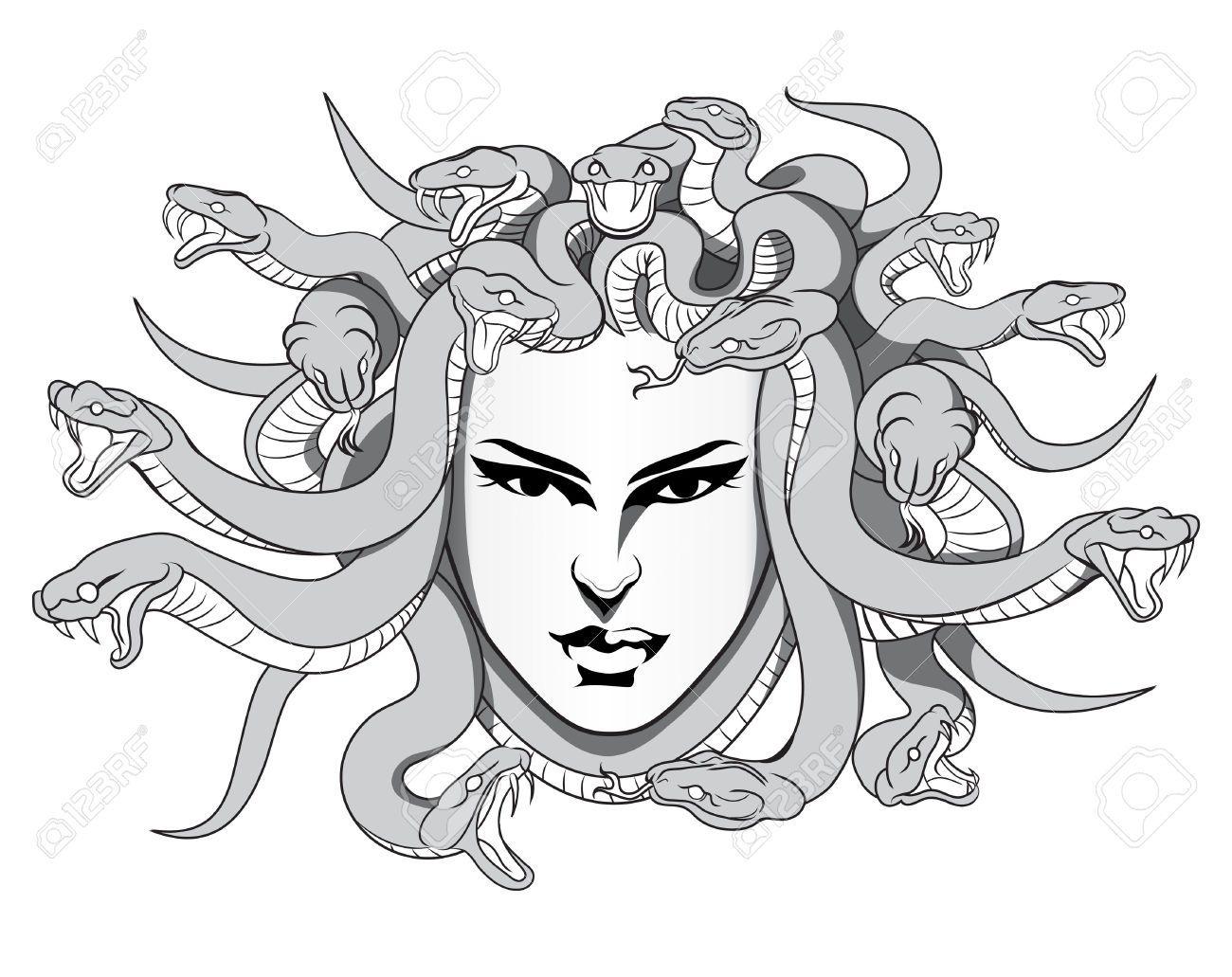 M duse mythologie dessin recherche google mythologie - Dessin mythologie ...