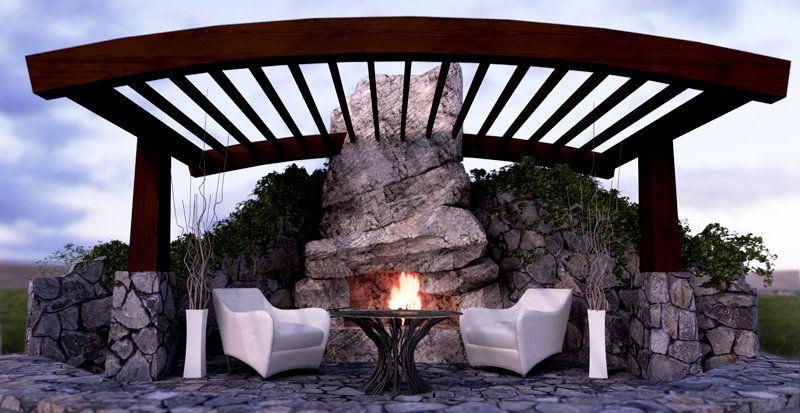 Stonetree Studios - Rockscapes   Backyard living, Backyard ... on Backyard Rockscape Ideas id=83920