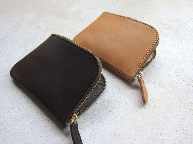 affordance | 革鞄と革小物 内縫いファスナー財布(中) ファスナー