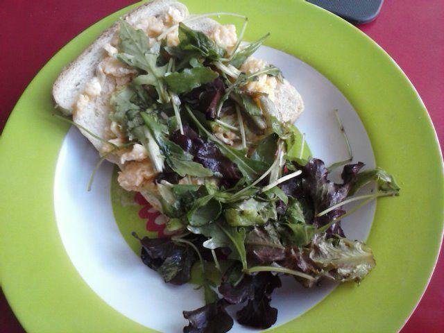 Salada diferente...