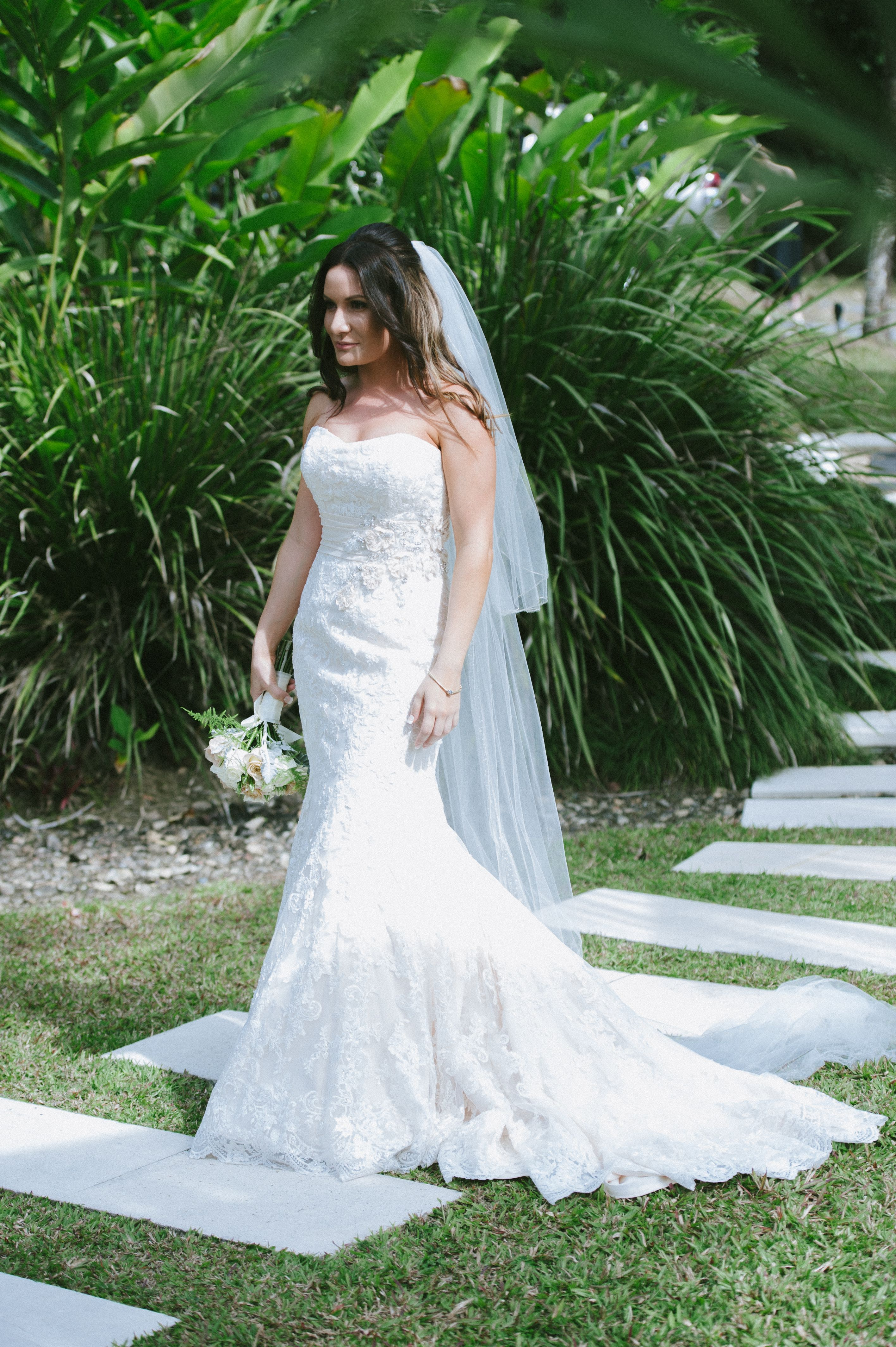 My beautiful gown wedding dress lace mermaid take me down to