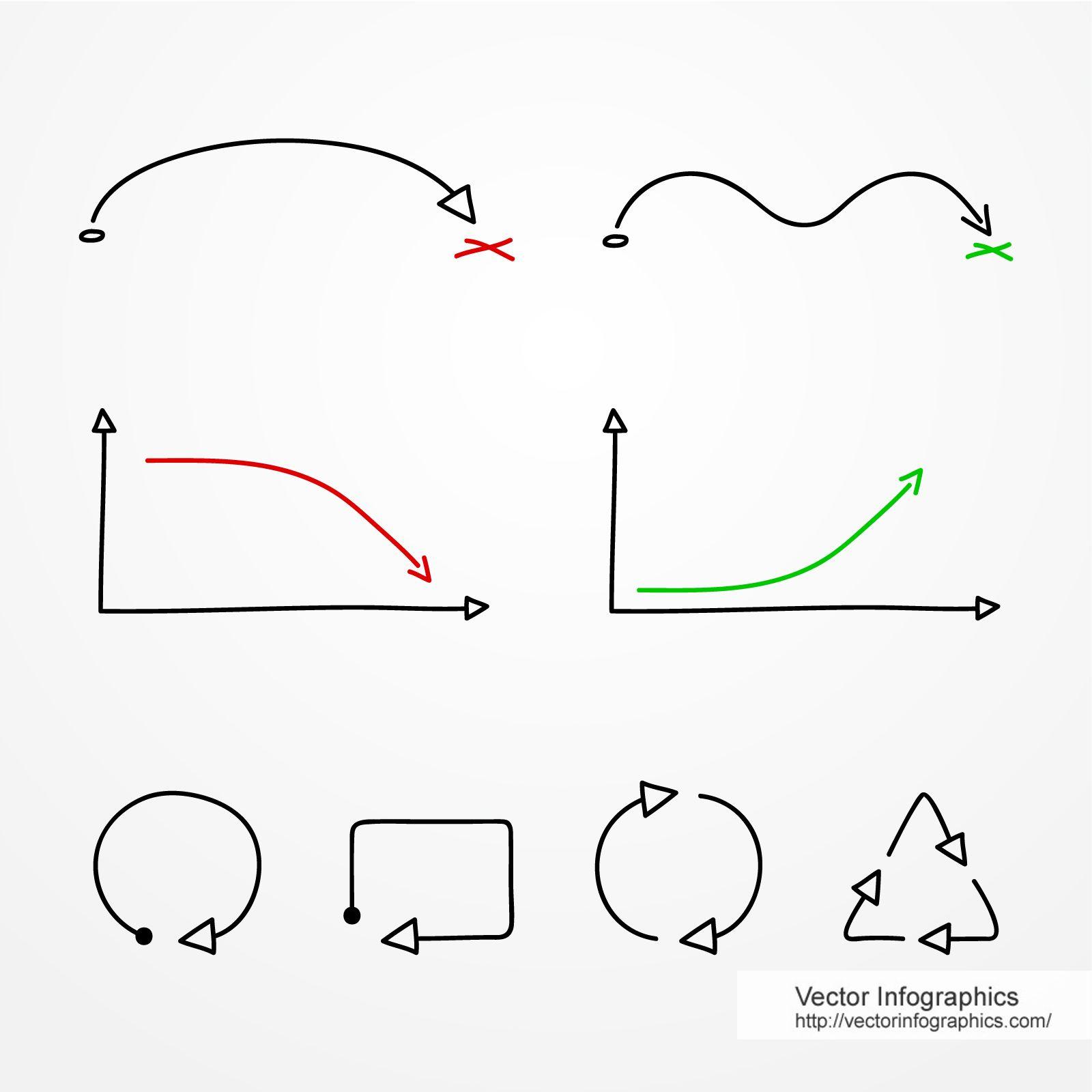 Hand Drawing Graph Disenos De Unas Portadas