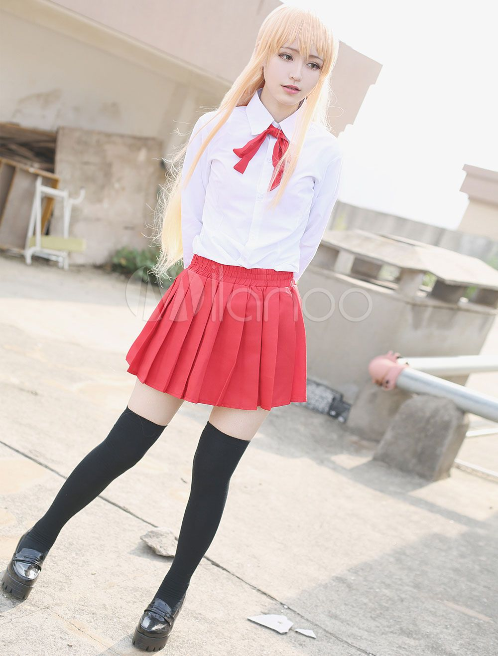 Umaru-chan Umaru Doma School Uniform Cosplay Costume Dress Any Size Himouto