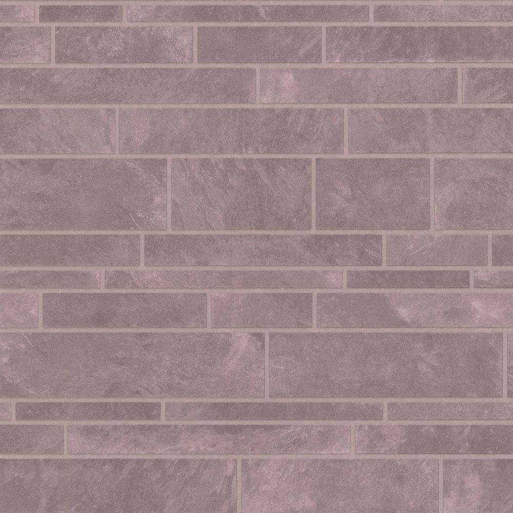 Graham Brown Contour Slate Tile Grey Stone Brick Effect Wallpaper
