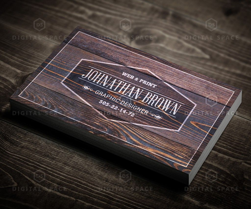 Free retro wooden business card retro business cards and business free retro wooden business card reheart Images
