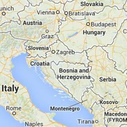 Street View Google Maps Croatia Italy Map Italy