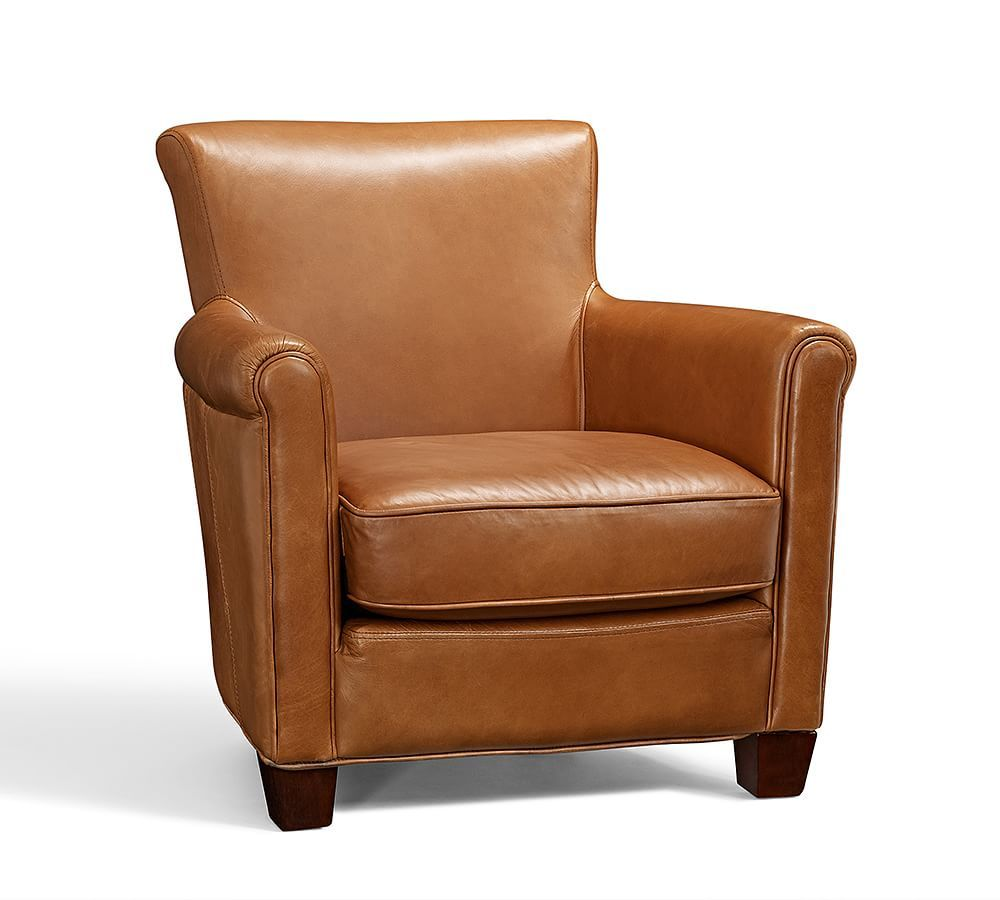 Irving Leather Armchair Leather Chairs Leather Armchairs