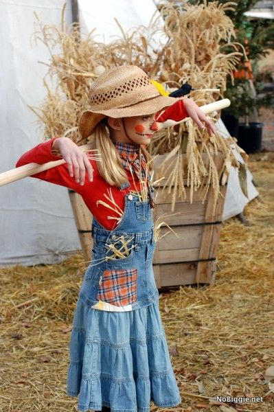 25+ creative DIY costumes for girls Scarecrows, Costumes and - scarecrow halloween costume ideas