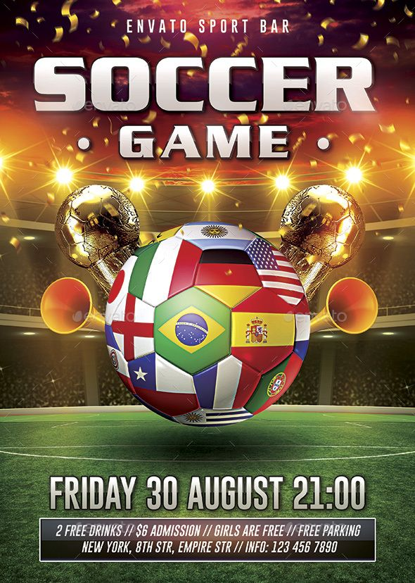Soccer Flyer  Download Fully And Heres