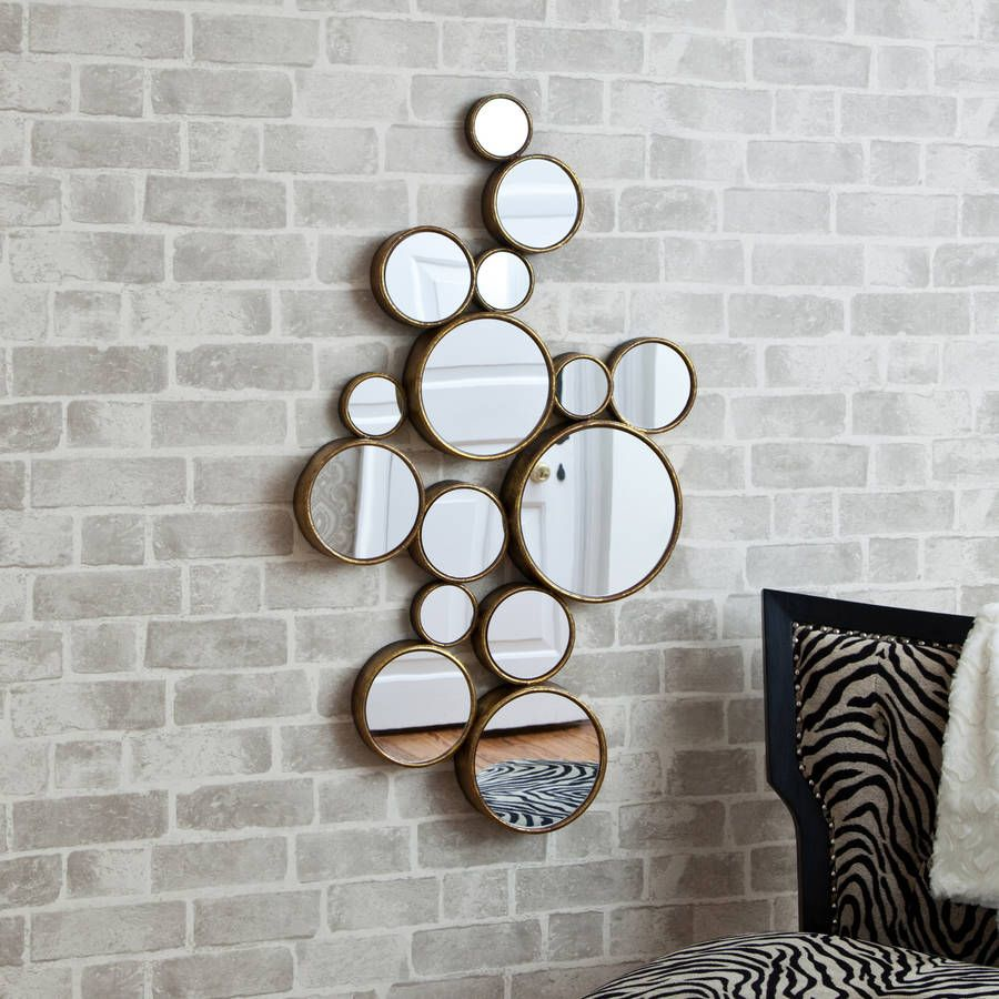 Circle Wall Mirror funky' circles mirror | mirrors online, decorative mirrors and
