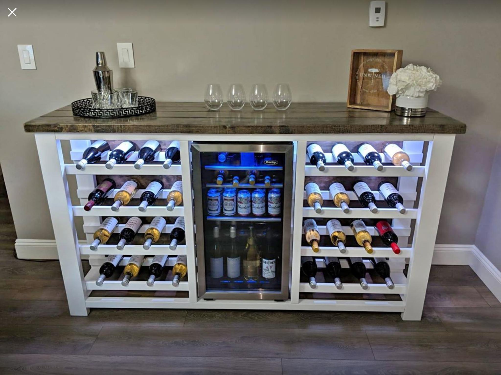 Cave A Vin Et A Liqueur Trouvee Sur Facebook Marketplace Et