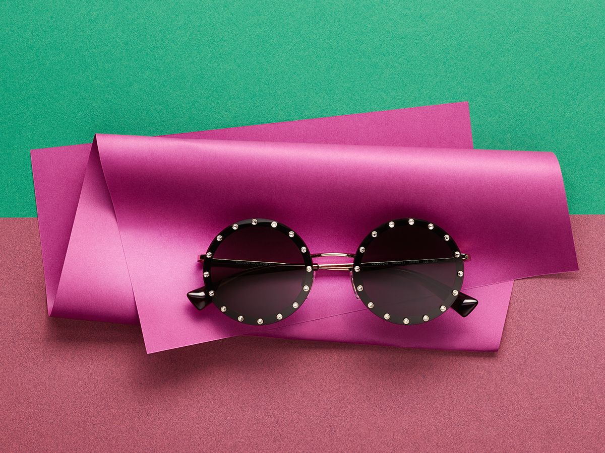 7cb85a35e8f0a Valentino sunglasses bring together bold couture and sophisticated  refinement.