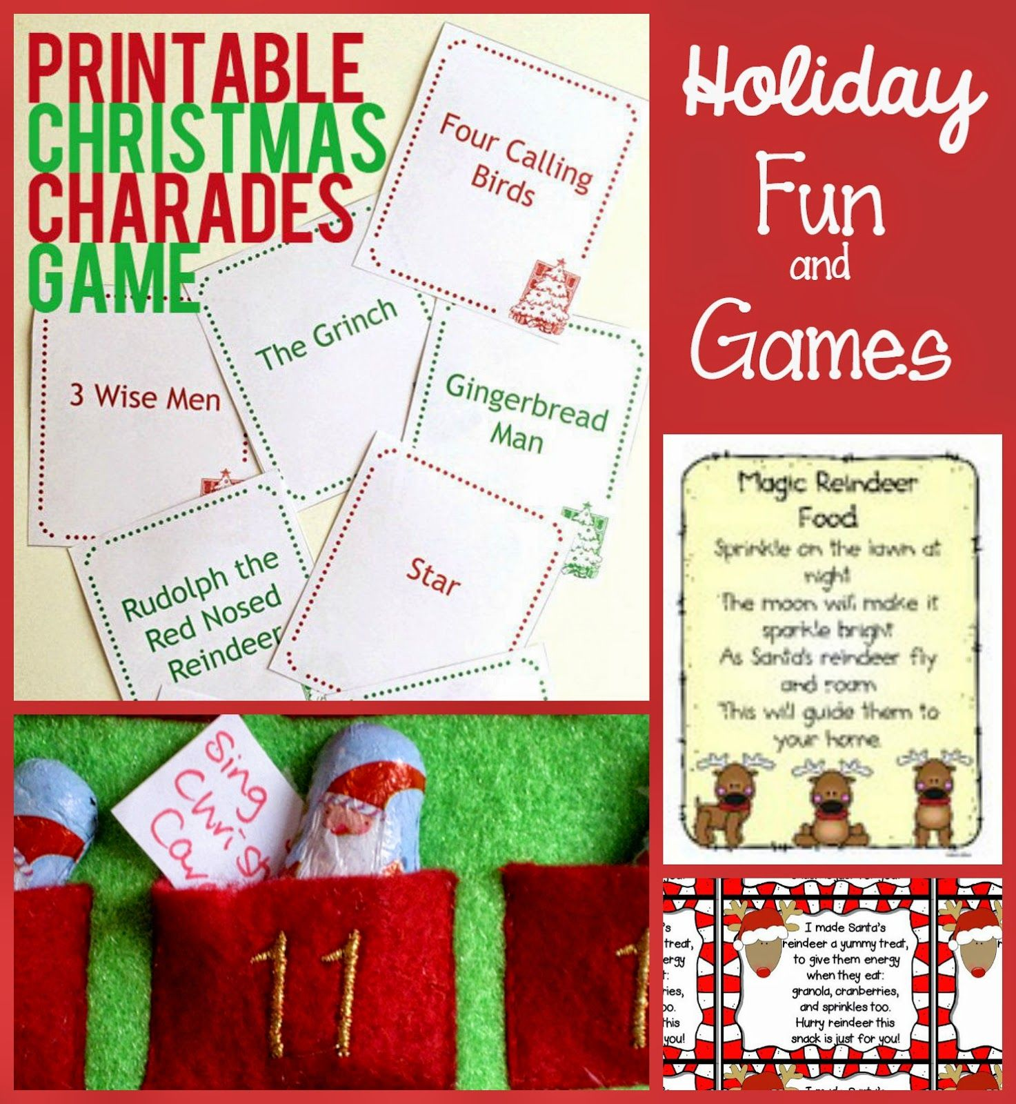 Free Christmas Printables For Preschoolers