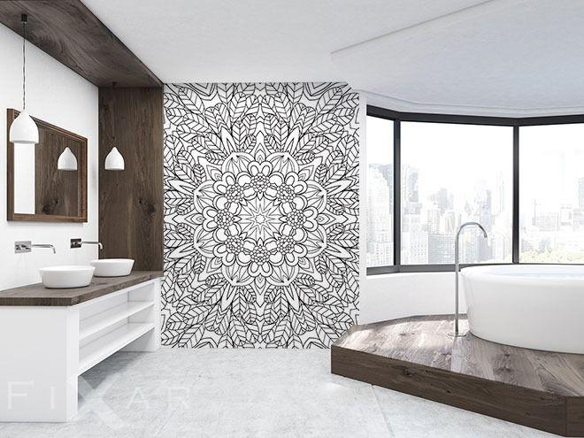 Badezimmer Latexfarbe ~ Die besten bilder zu fototapeten fürs badezimmer auf