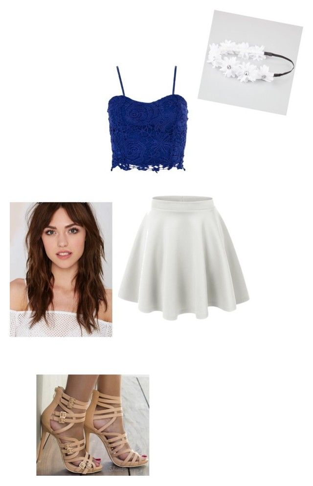 """Untitled #5"" by annierhcole ❤ liked on Polyvore featuring Berry, Full Tilt and LE3NO"