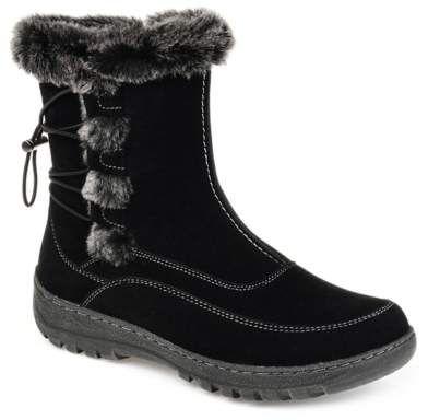 Damen Winterstiefel Warm Gefütterte Stiefel Kunstfell Metallic 820218 Trendy Neu