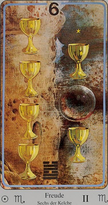 Image result for 6 of cups haindl