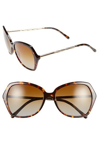 63b62160e0 Burberry  Trench Knot  Sunglasses available at  Nordstrom