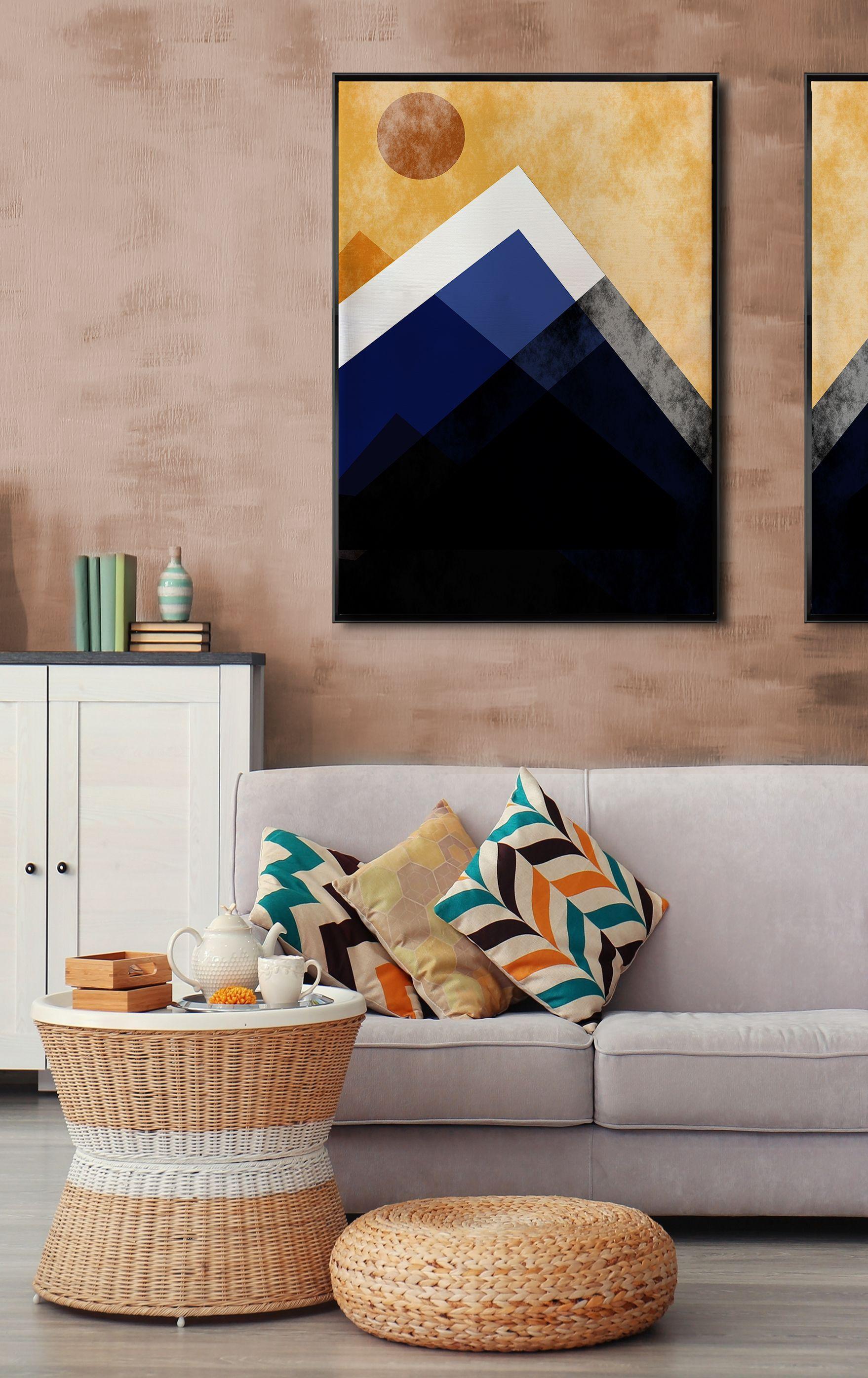 bilder von christine bassler einfaches mandala leinwand abstrakt foto auf mit rahmen bild vom