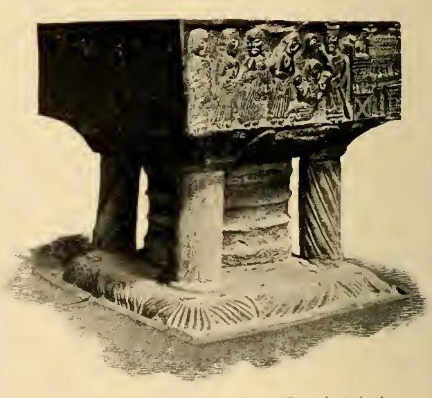 Cattedrale di Winchester, fonte battesimale