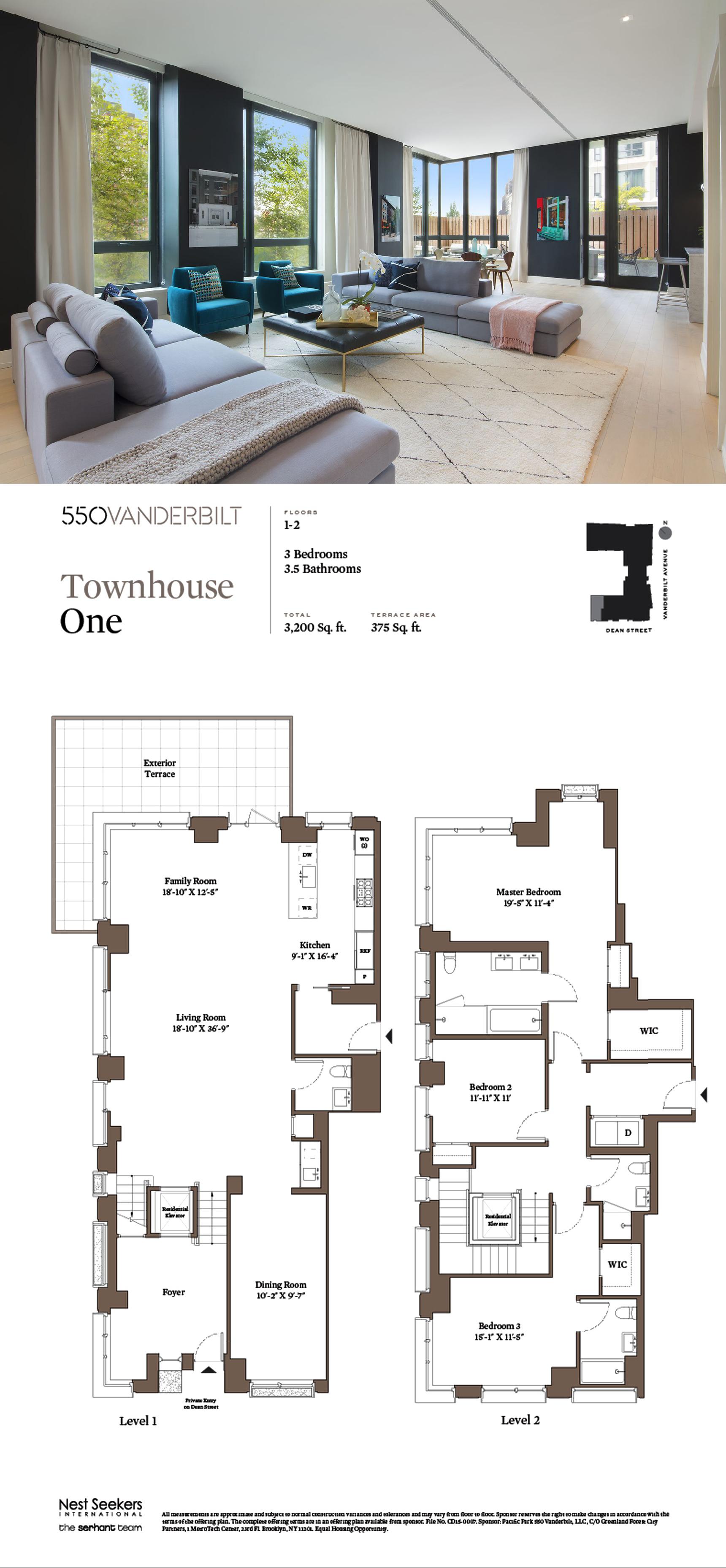 Pacific Park S 550 Vanderbilt Unveils A 4 5m Maisonette Sims House Plans Small House Floor Plans Apartment Floor Plans