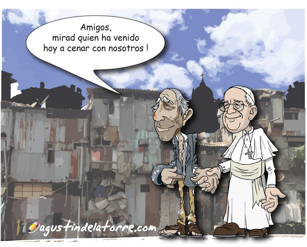 El Papa pide a los políticos hacerse cargo de las familias