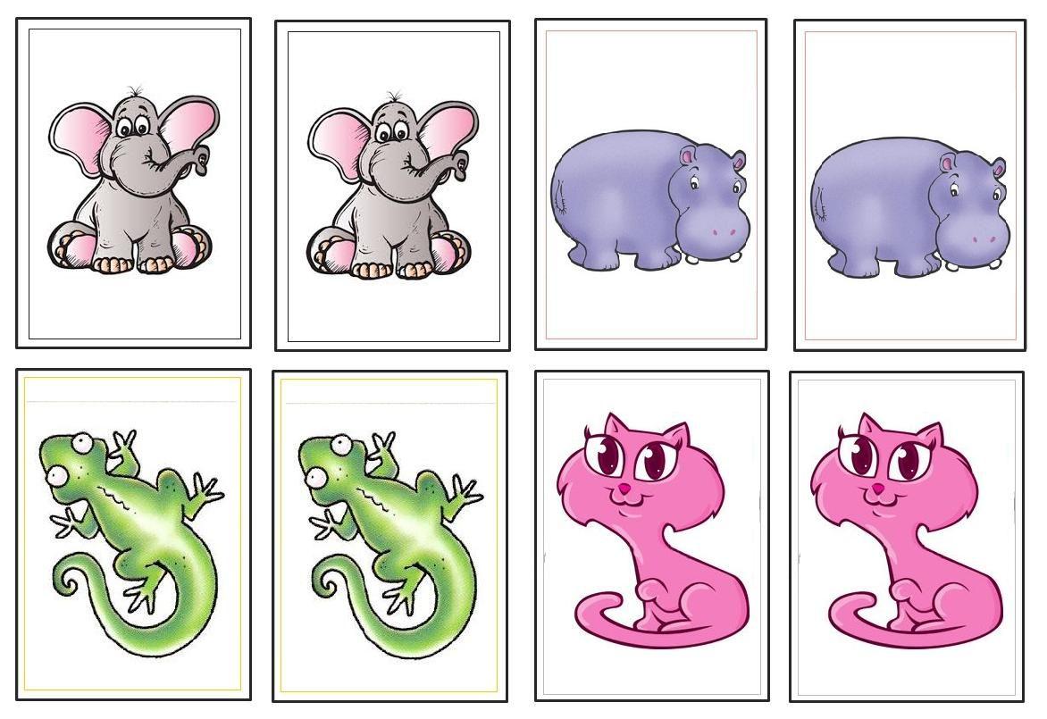 Menta Más Chocolate Recursos Para Educación Infantil Juego Didáctico Memory De Animales Juegos Didacticos Juegos Para Preescolar Juegos De Memoria